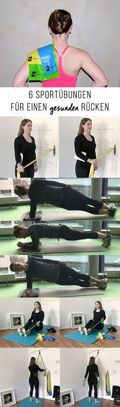 6 Sportübungen für einen gesunden Rücken