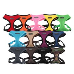 The Puppia Soft Dog Harness now comes in 13 colors with the newly added Grey color! Great for walking puppies to large dogs and every size in between. Shop sizes XS-XXL at http://www.chic-dog-boutique.com/Puppia_Soft_Dog_Harness_p/pup-pdcf-ac30.htm