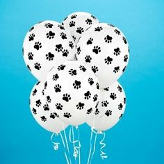 Paw Print Balloons (6 count) Belbal Us Ltd. $2.00