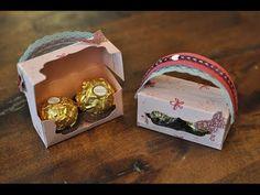 Mini-Handtasche für 2 Ferrero Rocher mit Produkten von Stampin' Up! - YouTube