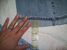The Not-So-Nerdy Way to Hem Jeans