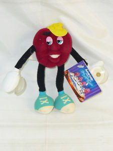 The California Raisins. Vintage toy made by Applause in the 80s.    http://www.ebay.com.au/itm/VINTAGE-80s-CALIFORNIA-RAISINS-TOY-TAG-APPLAUSE-/110606343791?pt=AU_Toys_Hobbies_Character_Toys&hash=item19c0a6de6f