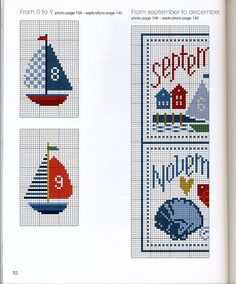 Aunt Martha's Iron On Transfer Patterns for Stitching, Embroidery or Fabric Painting, Cute Vintage Animal Patterns for Tea Towels or Quilting, Set of 5 - Embroidery Design Guide Cross Stitch Sea, Cross Stitch Borders, Cross Stitch Charts, Cross Stitch Designs, Cross Stitching, Cross Stitch Embroidery, Embroidery Patterns, Cross Stitch Patterns, Stuffed Animal Patterns