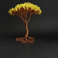 """""""Art is the only way to run away without leaving home. Wire Trees, Leaving Home, Running Away, The Only Way, Handmade Crafts, Gift Guide, Dandelion, Goodies, Leaves"""