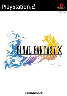 Final Fantasy X. The last good main series Final Fantasy and the one with the best battle system of them all. Final Fantasy X, Fantasy Series, Fantasy Battle, Fantasy Rpg, Video Game Logos, Video Games, Juegos Ps2, Art Logo, I Love Music