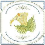 Elegant Runner - Callas Lily In the Hoop runner with Callas Lily . All Design, Free Design, Floral Design, My Bookmarks, Calla Lily, Machine Embroidery Designs, Make Your Own, Hoop, Africa