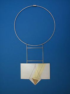 Fritz Maierhofer, Necklace, 1978 Silver and Gold