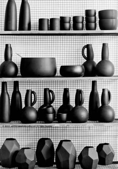 Industrial Metal Shelves  (C) BODIE and FOU All rights reserved. Photography: Francois Kong | Styling: Karine Kong