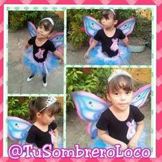 Alas de Mariposa #disfraz #infantil #niños #carnavales #fiestastematicas #cumpleaños #actividadinfantil #arteengomaespuma #TuSombreroLoco