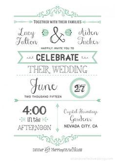 DIY. Diseña tu propia invitación de boda (incluye template).   Renata Enamorada