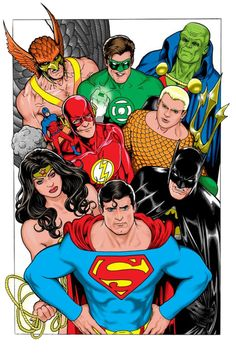 Justice League of America by Kevin Maguire