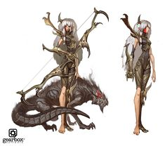 Matias Tapia is an illustrator and concept artist from Chile who most recently worked on Gearbox's Battleborn. Character Sheet, Character Concept, Character Art, Concept Art, Character Ideas, Dark Fantasy, Fantasy Art, Cool Monsters, The Revenant