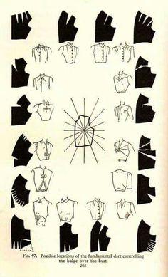 More dart manipulation (bodice, pattern making) | Patternmaking for Fashion Design | How to Draft Sewing Patterns | Pattern Fitting | How to Design Sewing Patterns