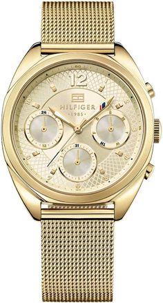 886144a29cf Tommy Hilfiger TH1781488 horloge dames - goud - edelstaal doubl