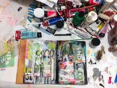 """Every Life Has a Story!"" - {Roben-Marie Smith} - On My Art Table..."