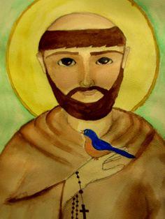 St. Francis of Assisi by KarliJoanne.deviantart.com on @deviantART