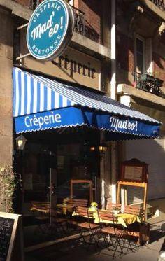 Crêperie bretonne Mad'eo!  Paris http://sixthematique.fr/madeo-creperie-bretonne/