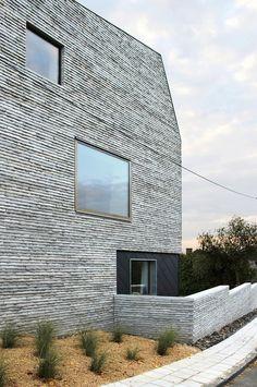Mauerhaus in Belgien / Sichtbeton war gestern - Architektur und Architekten - News / Meldungen / Nachrichten - BauNetz.de