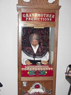Coin Operated Grandmother Predictions Fortune Teller