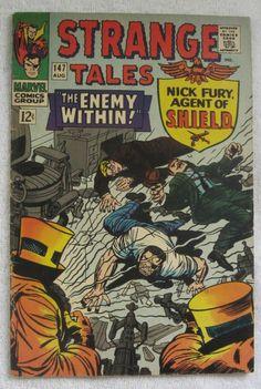 Strange Tales #147 (Aug 1966, Marvel) Dr. Strange VG 4.0