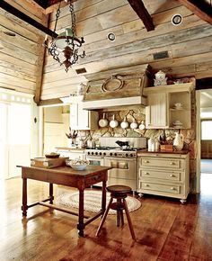 WHAT WILSON WANTS: ( country kitchen cool )
