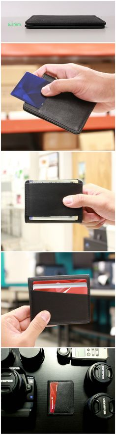 The Slim 360 Wallet is the 360° reversible bi-fold wallet with optional RFID blocking. Secure, slim, minimalist wallet for everyday carry.