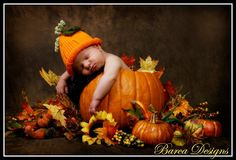 Sweet pumpkin baby!