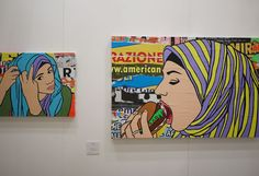 From Italy: Affordable Art Fair.