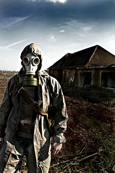 Gas masks terrify me for some reason