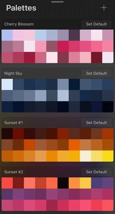 Skin Color Palette, Color Schemes Colour Palettes, Palette Art, Color Palette Challenge, Digital Art Tutorial, Aesthetic Colors, Color Swatches, Color Theory, Pantone Color