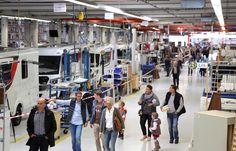 Offene Produktion bei LMC - hier konnten die Besucher hinter die Kulissen einer Fahrzeugfertigung blicken #LMC #60JahreLMC #Jubiläumsfest