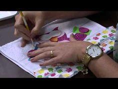 Mulher.com 10/04/2015 - PRISCILA MULLER PANO EM PATCHAPLIQUE COM PINTURA PT1   Cantinho do Video
