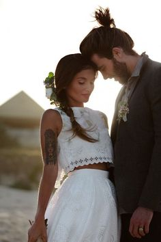 Bohemian Wedding Dresses for Stylish Brides - MODwedding