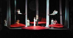 A Midsummer Night's - A Midsummer Night's Dream. Tygre's Heart Shakespeare Company. Scenic design by Chris Harris. 2002 --- #Theaterkompass #Theater #Theatre #Schauspiel #Tanztheater #Ballett #Oper #Musiktheater #Bühnenbau #Bühnenbild #Scénographie #Bühne #Stage #Set