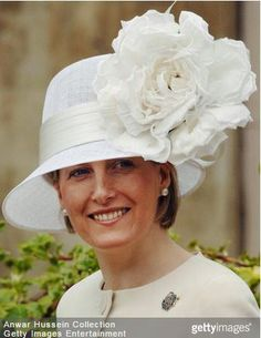 Countess of Wessex, April 16, 2006 in Philip Treacy   Royal Hats