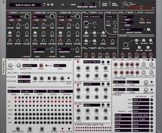 Rob Papen's Predator RE For Propellerhead's Reason 6.5 ~ A Programmable Synth That Comes With A Sound Library Of  4,000 Preset  Sounds / Talk About Having Options