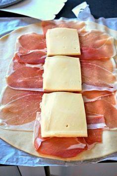 Filet mignon en croûte au jambon et fromage à raclette (Rappelle toi des mets)