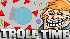 DIEP.IO - ITA : TROLL TIME !!!! [MANAGER][SLITHER.IO]