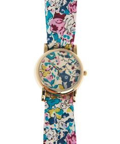 Claire-Aude Liberty Print Knot Watch