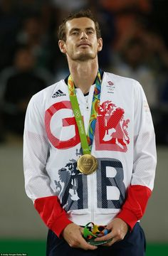 It takes Murray's total number of Olympic medals to three after also winning…