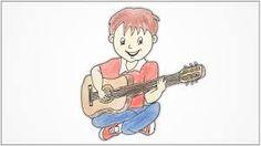 guitar cartoon draw - Αναζήτηση Google Cartoon Drawings, Charlie Brown, Guitar, Boys, Google, Fictional Characters, Baby Boys, Drawings Of Cartoons, Senior Boys