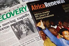 Read about what we've been up to for the past 25 years!  http://www.un.org/en/africarenewal/vol26no1/africa-renewal-at-25.html