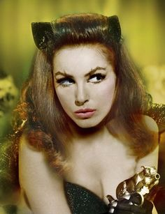 theswinginsixties:  Julie Newmar as Catwoman