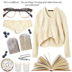 wallflower by jessicaseales on Polyvore