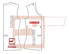 Blusa con nudo en canesú Shirt Blouses, T Shirt, Pattern Drafting, Different Styles, Sewing Patterns, Japanese Style, Couture, Fashion, Modeling
