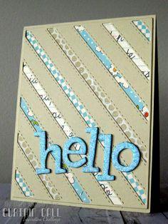 hello - cozy quilt challenge reminder