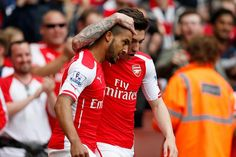 Arsenal 4 West Bromwich Albion 1  Theo Walcott produced a fine individual display for Arsenal as the north London side warmed up for next weekend's FA Cup final against Aston Villa by humiliating West Bromwich Albion at the Emirates Stadium.