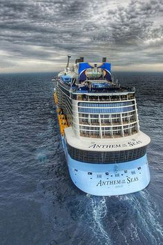A wide-angle view of Anthem of the Seas. Soak in the ocean views from this one-of-a-kind ship.