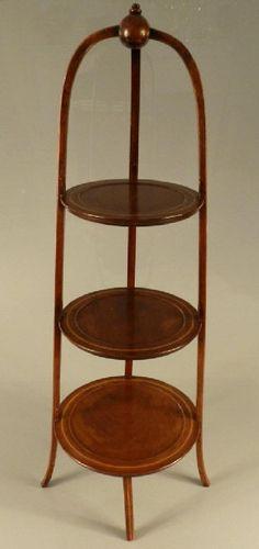Edwardian Sheraton Style Mahogany Cake Stand On. Cake StandsVintage  FurnitureClevelandAuctionNumberSalvaged Furniture