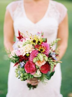 Wildflower bouquet | Anna Routh